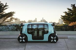 Zoox unveil quirky fully autonomous unit