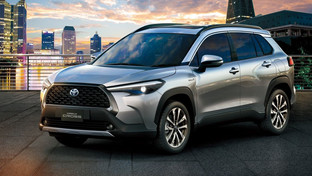 Toyota Corolla made it to a SUV – the Cross!