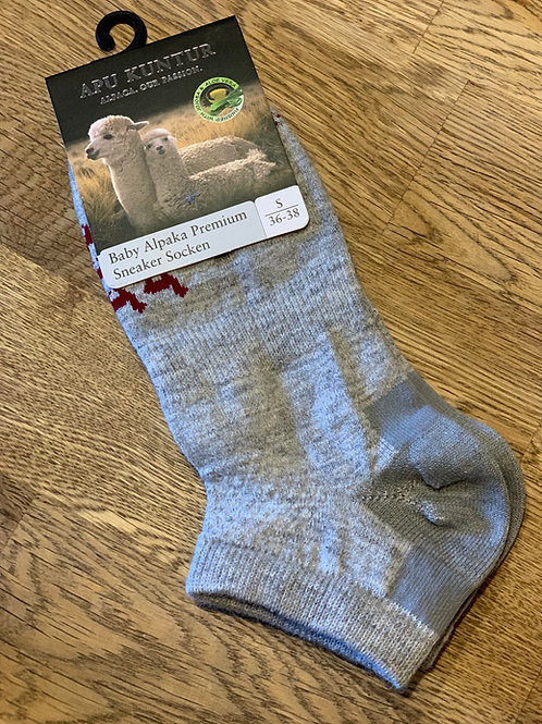 Baby Alpaka Premium Sneaker Socken