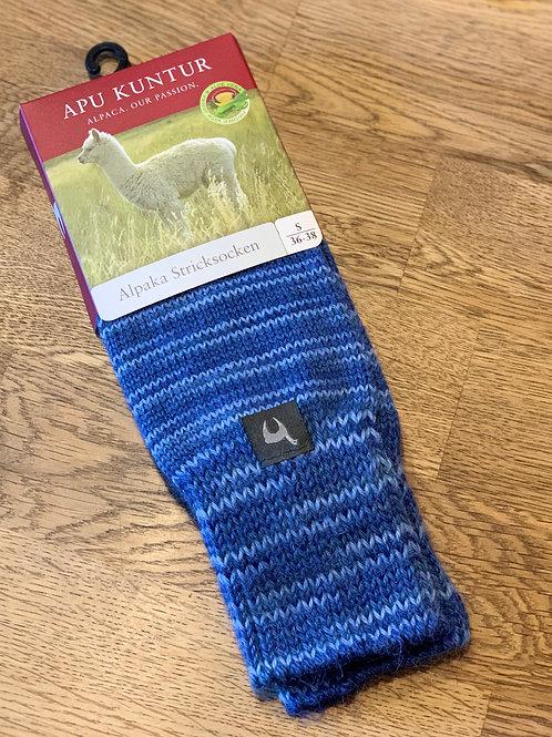 Alpaka Strick-Socken