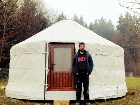 I Got A Yurt!