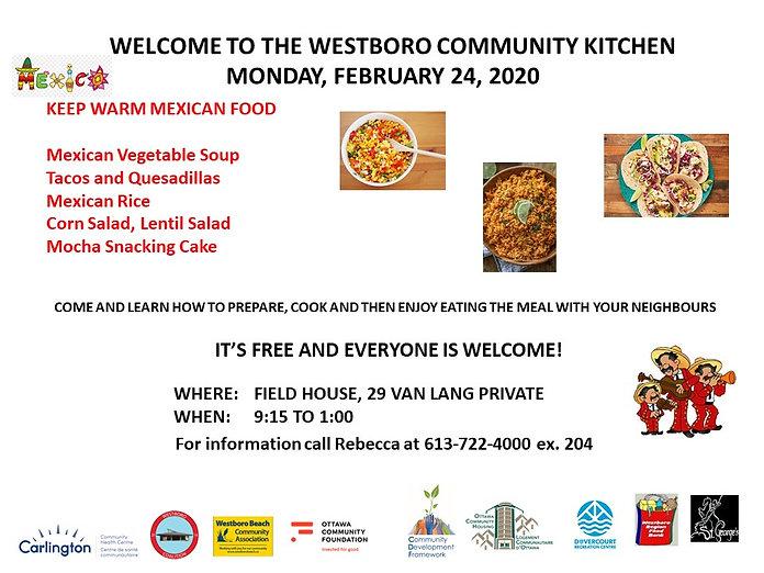 Community Kitchen Poster February 24 202