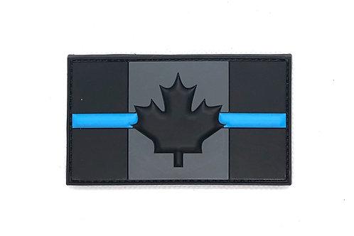 CANADA THIN BLUE LINE - PVC