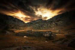 Sunset au Col de L'infernet