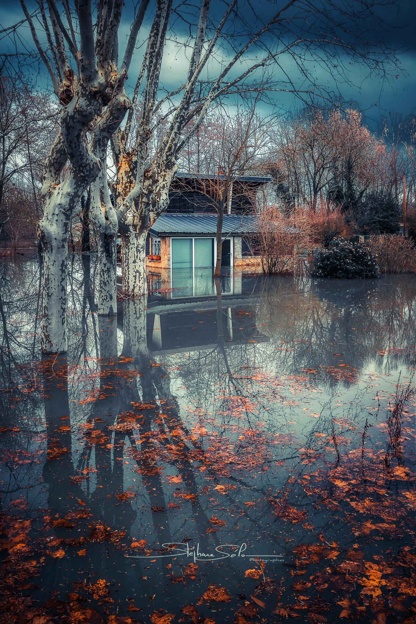 La maison dans l'eau
