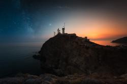 Sunset sur le Phare de Cabo de Gata