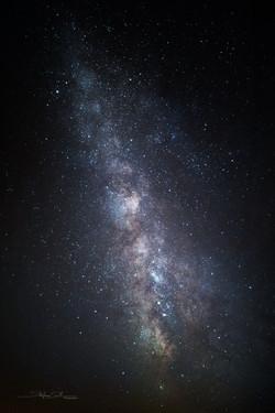 Voie Lactée au Mont Pilat