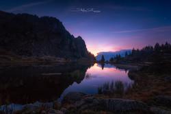 Sunrise au Col de L'infernet