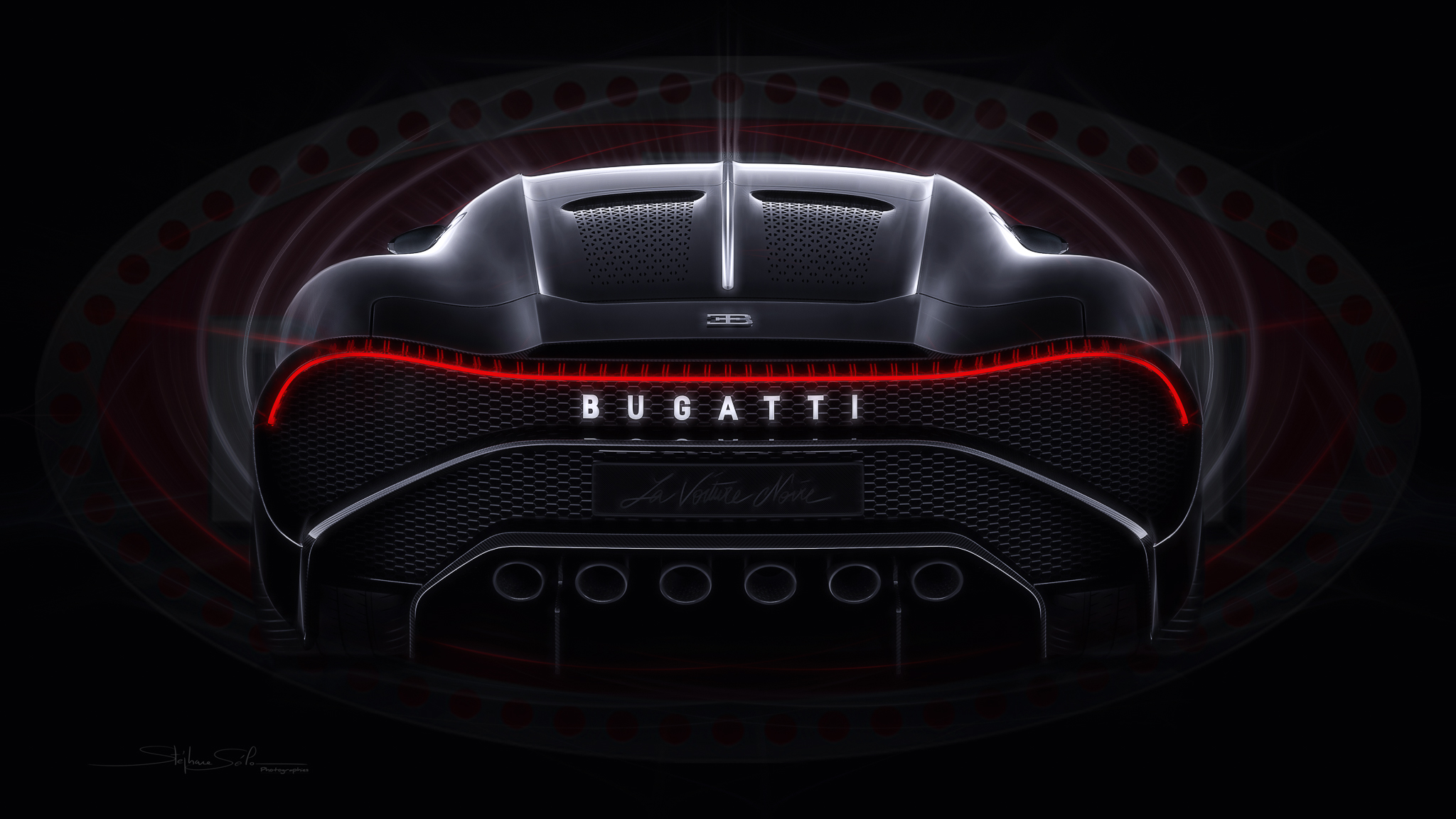 "Bugatti ""The black car"""