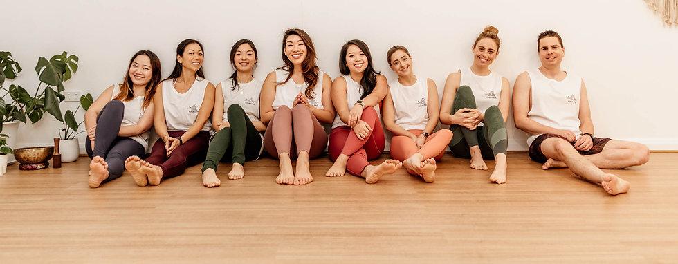 Yoga cave team