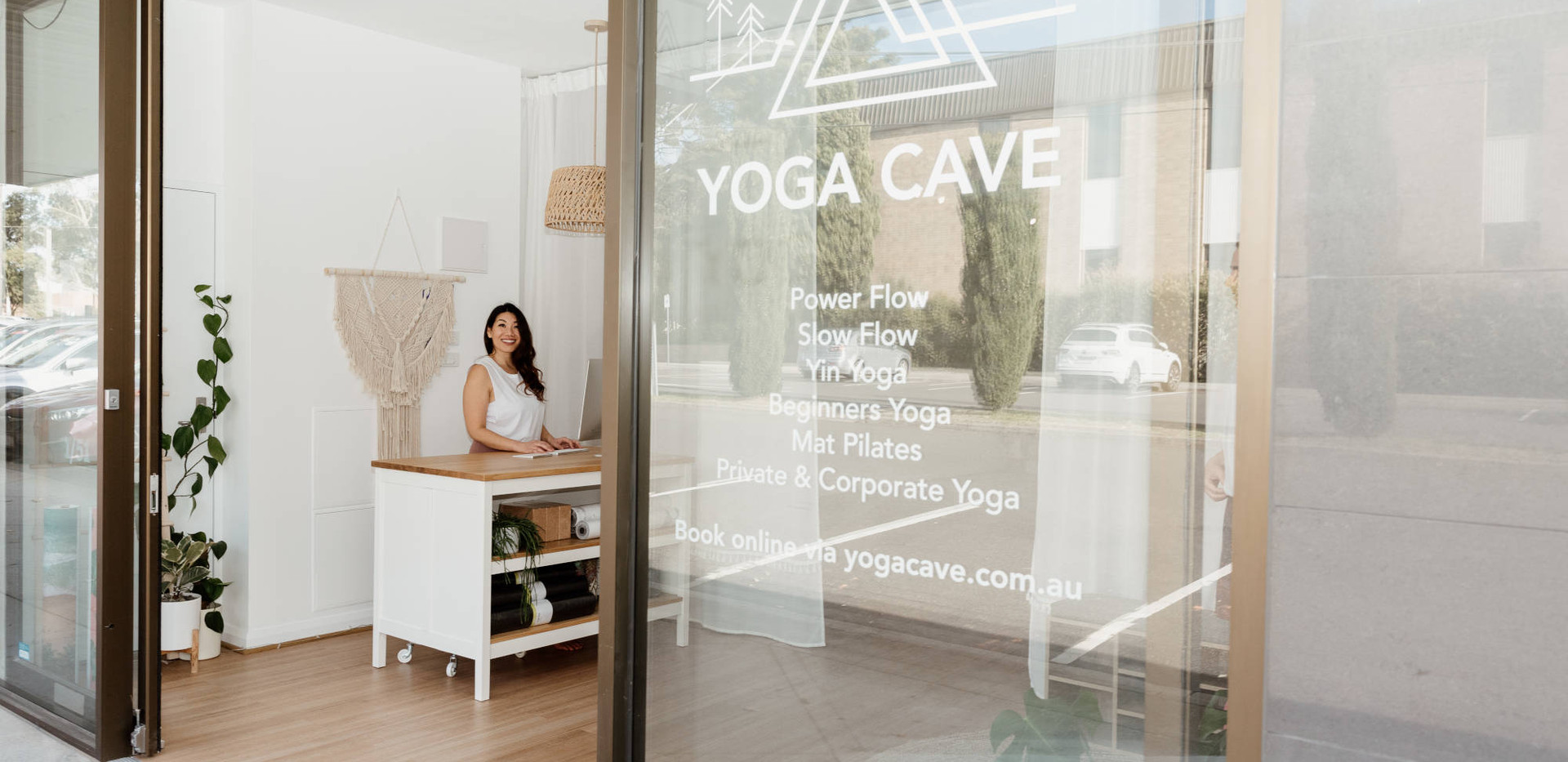 Yoga Cave Studio Entrance