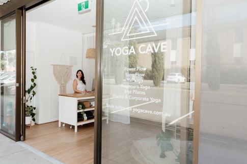 Yoga Cave Studio Entrance