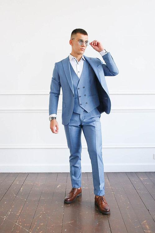 Голубой костюм LENNY