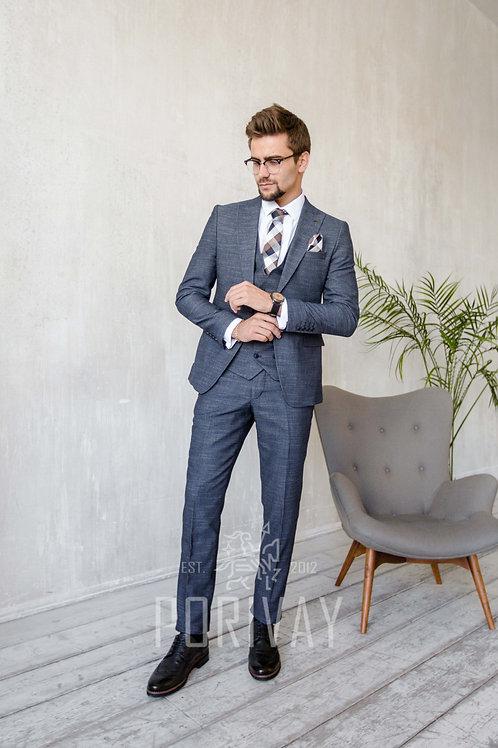 Синий  костюм COLTISHALL DARK