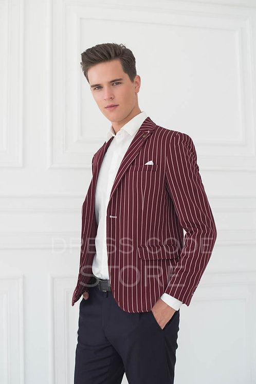 марсала модный приталенный  пиджак кэжуал спб акция распродажа