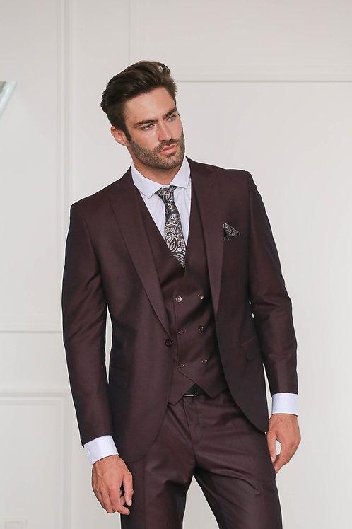 Бордовый костюм SANDAL