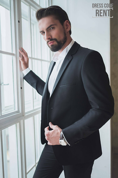 Аренда мужского костюма TYBALT BLACK на 3 дня