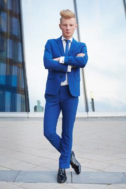 светский ведущий Макс Данилин