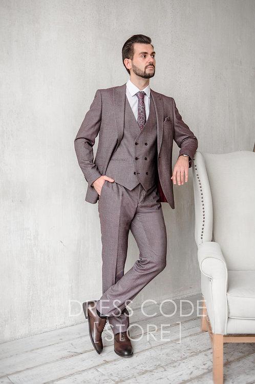 Фактурный костюм ROSE SMOKE