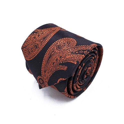 Прокат галстук с крупным узором пэйсли