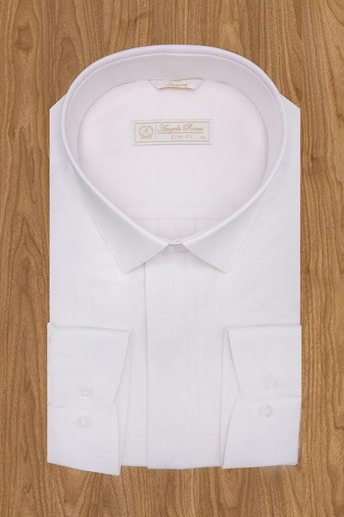 Рубашка  бледно розовая