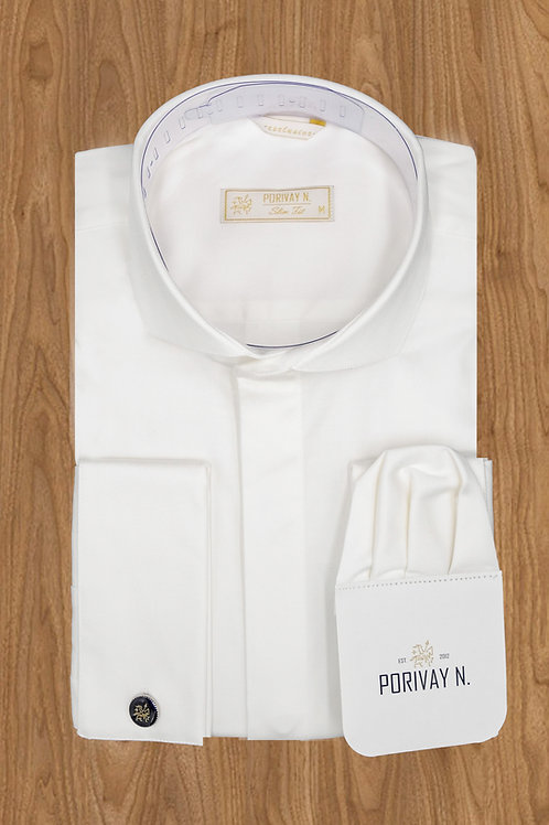 "Рубашка ""PORIVAY N."" Галстук-запонка"