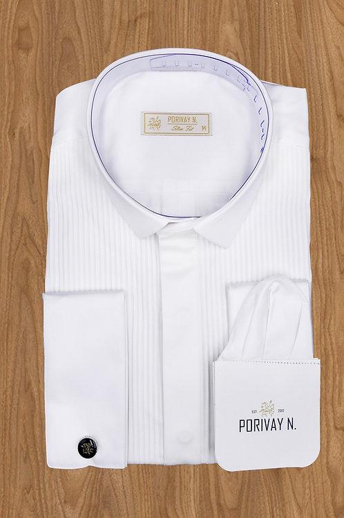 """Рубашка """"PORIVAY N."""" Плиссе"""