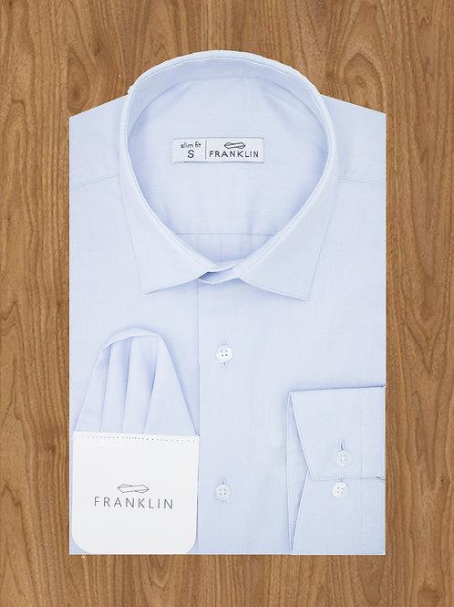 "Рубашка под галстук  голубой ""FRANKLIN """