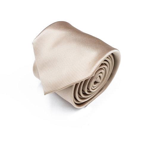 Прокат бежевый галстук однотонный
