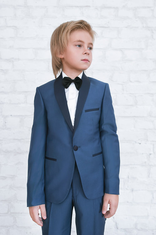 Прокат детский смокинг JUNIOR TUXEDO BLUE