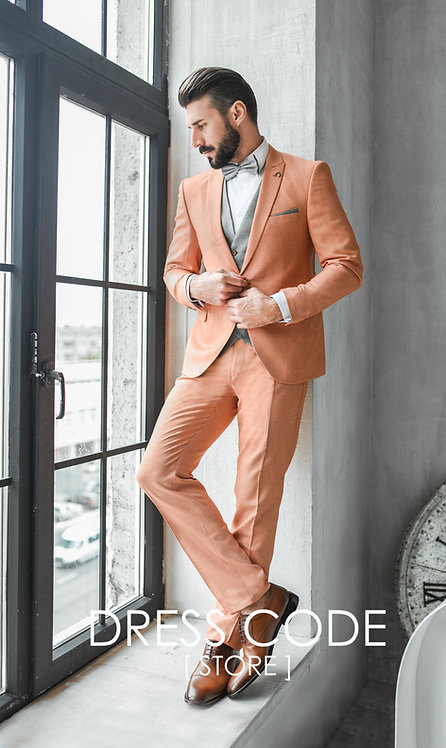 Прокат мужского костюма TANGERINE на 3 дня