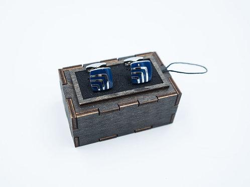 Запонки PREMUIM в деревянных шкатулках