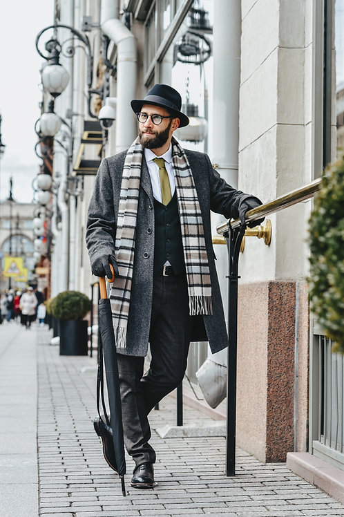 пальто BAZIONI GREY