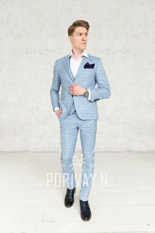 Бледно-голубой костюм KARELIAN BIRCH