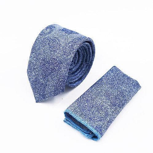 Прокат галстук с узором пэйсли