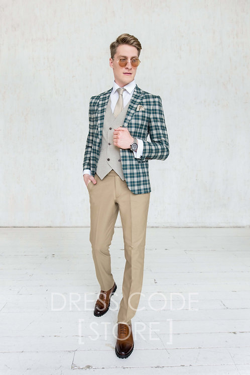 Прокат мужского костюма TAVISH на 3 дня