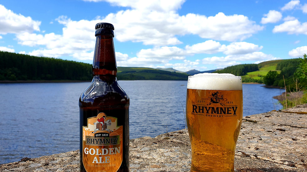 Rhymney Golden Ale Bottles 12 x 500ml