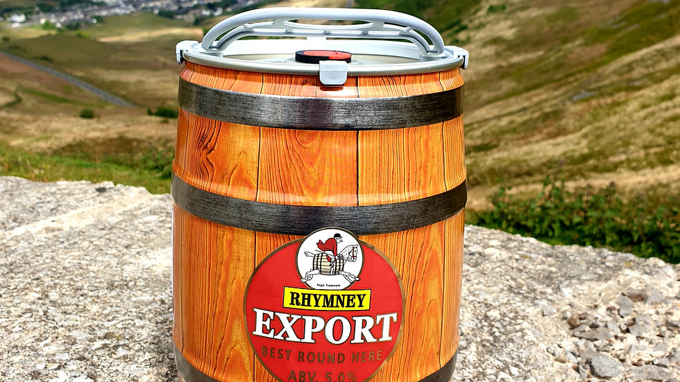 Rhymney Export Mini Keg