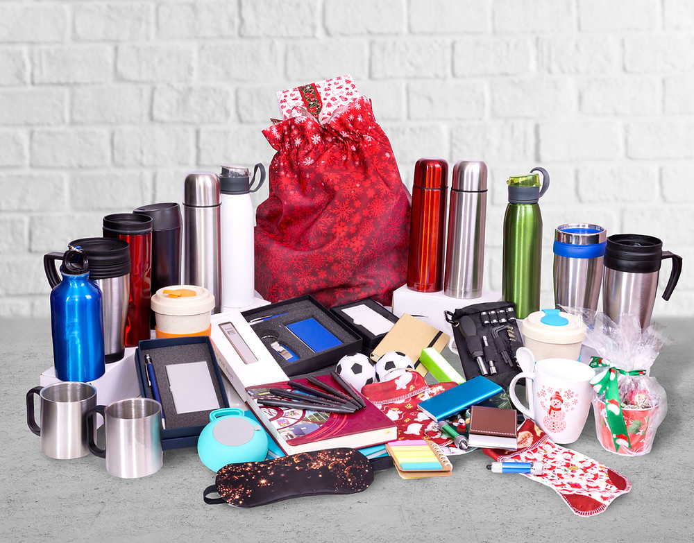 Various promotional products that can take your custom branded swag marketing to the next level.