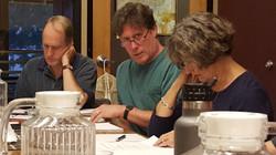 Peter, Bill, Judi