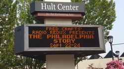 Hult Center sign