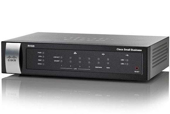 Cisco RV320 Dual Gigabit WAN VPN Router
