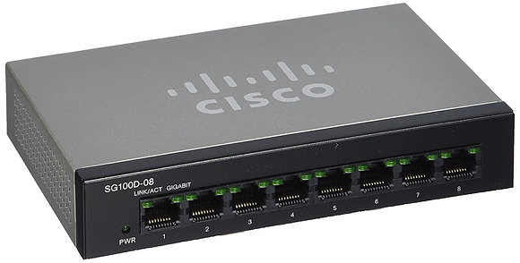 SG95D-08 8-Port Gigabit Desktop Switch