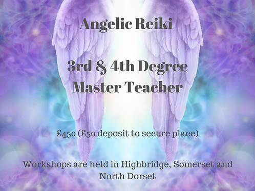 Deposit Angelic Reiki 3 & 4