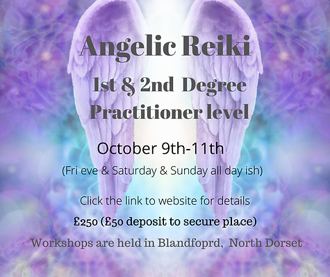 Angelic Reiki 1st & 2nd Degree Practitio