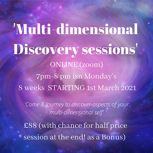 Multidimensional Discovery Sessions