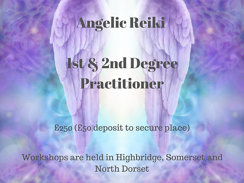 Deposit Angelic Reiki 1st & 2nd Degree