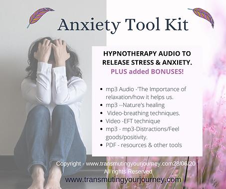 Anxiety, stress, depression, PTSD, self-