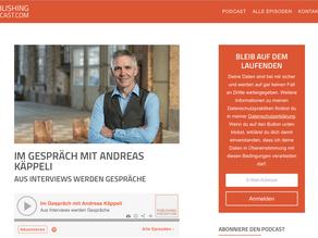 Heike Burch, vom Publishing Podcast, im Gespräch mit Andreas Käppeli