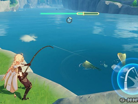 New Fishing System For Genshin Impact